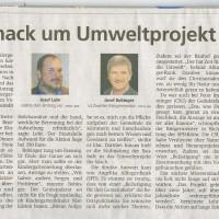 Merkur Artikel zum Antrag der FW durch Seppi Lohr