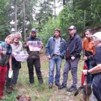 SPD Oberau auf Erkundungstour im Schutzwald